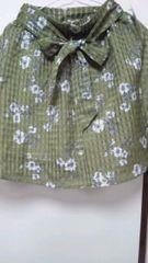 タグ付きハニーズ・可愛い花柄スカート¥2480サイズM