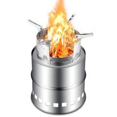 ウッドストーブ 二次燃焼 燃料不要 五徳コンロ 焚火台