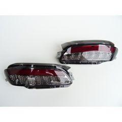 トヨタ ハリアー 30系 RX330 高品質 スモークレンズ LEDリフレクター
