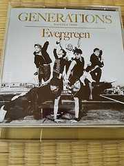 GENERATIONS Evergreen  CD