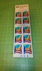 アメリカ国旗33c切手×10枚♪