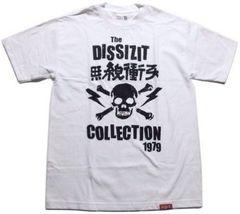 XL★新品即決★DISSIZIT★スカル(ドクロ)Tシャツ★ホワイト