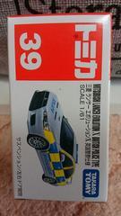 トミカ 旧39 三菱ランサーエボリューションX 英国警察仕様 未開封 新品販売終了