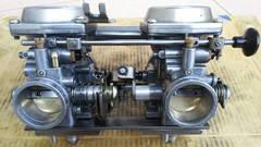 GS400 引きキャブ極上美品GT380GSXZ400FXCBX400エンジンマフラー押しキャブ
