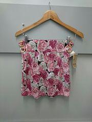 d.i.a☆薔薇柄タイトスカート