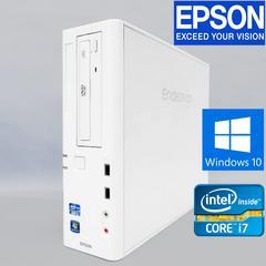 14日保証 EPSONエンデバー 2世代Core i7 Win10 Pro DVDマルチ HDDリカバリ