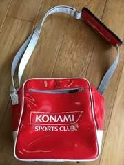 コナミスポーツ スイミング 体操 エナメルバッグ