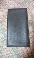 ルイヴィトン二つ折り長財布黒美品正規品シリアルナンバー確認済即決送料無料