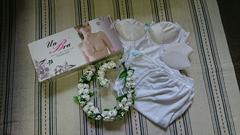 ☆ブライダルインナー☆花嫁.花冠.お得な6点セット☆結婚式