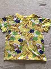 リトルベアクラブベアーちゃん&フルーツ柄Tシャツ120cm