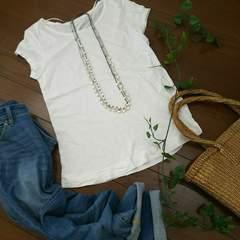 〇ZARA〇シンプルなストレッチTシャツ*・゜