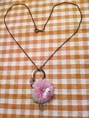 カーリーコレクションビンテージフラワー2WAY指輪ネックレス