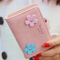 1円新品☆花柄フラワーデザインカードケース20枚ピンク桃レディース