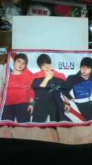 東方神起JYJ〜NII/新ブランド「RU.N」限定ハンカチ