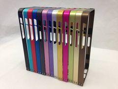 大人気★iphone5s iphone5 アルミ バンパーケース カバー 赤