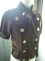 新品◆ナポレオンjacket◆ブラウン系◆