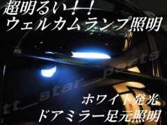 mLED】セルシオ30/31後期/ウェルカムランプ足元照明ホワイト