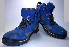 中古 ナイキ エアジョーダン6ブーツ ブルー/イエロー サイズ31センチ