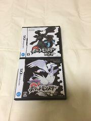 DSソフト【ポケットモンスターホワイト+ブラック】2本セット