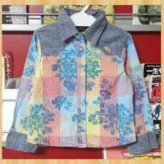 購入10000円 OILILY オイリリー カラフルシャツ 104 未使用
