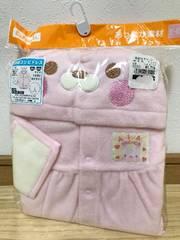 うさぎの長袖コンビドレス50〜60�p/新生児/女の子