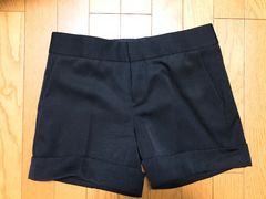ルッシェルブルーショートパンツ 38サイズ 黒