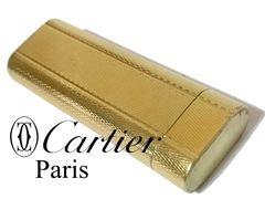 極レア 1スタ★カルティエ/Cartier ガスライター ALL GOLD