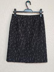 ★11★イネド★秋冬スカート★ブラック×グレー★