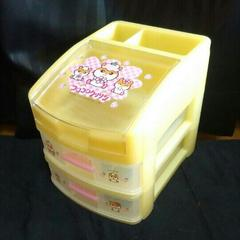 コロコロクリリンチェスト収納BOXプラケースメイクボックス