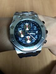 メンズ  クロノグラフ インポート 腕時計 新品未使用