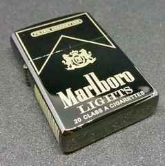 ZORRO マルボロ Marlboro ブラック Zippoサイズ