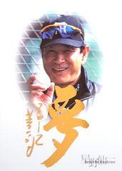 BBM.2004.Sen'ichi-Hoshino[夢] 星野仙一・ゴールド箔サインカード /500