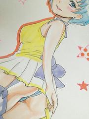 自作イラスト 水野亜美 セラムン 原稿 手描き マーキュリー