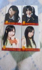 SKE48生ブロマイド4枚セット