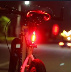 USB充電式 自転車用テールライト