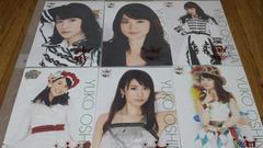超希少 正規品 未使用 大島優子 ポスター 6枚セット