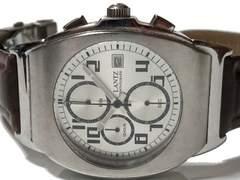 極レア【1点もの】LANTZ【クロノグラフ】お洒落なメンズ腕時計