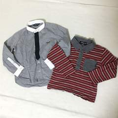 #COMME CA ISMシャツロンT2点セット90
