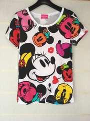ディズニーリゾート ミニーマウス Tシャツ M TDL TDS N2m