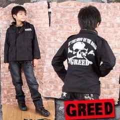 新品◆ミリタリージャケットジャンパー◆ドクロが激渋!160春秋