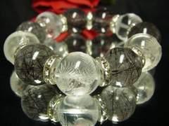 男の組み合わせ!!皇帝龍&ブラックルチル18ミリ数珠