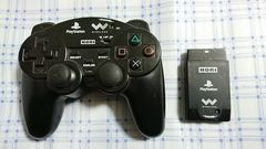 PS/PS2用 ワイヤレスコントローラー�B