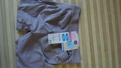 新品ショーツ立体成型Lサイズ渋紫綺麗なお尻の丸み