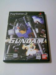 PS2機動戦士ガンダムめぐりあい宇宙DVD同梱版■アムロレイ一年戦争ゲーム