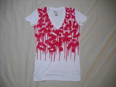 mq568 女 ZOO YORK ズーヨーク 白 Tシャツ Mサイズ