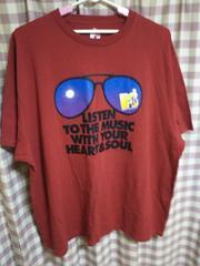★M TV HEART&SOUL オシャレデザイン サングラス Tシャツ サイズ6L 大きめ●