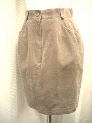 【Rapiche】サンドベージュのミニスカート