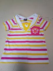 BABYDOLLxディズニーミッキー★半袖セーラーTシャツ(100cm)★/ベビド/夏