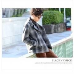 Black Baccara ピーコート  アウター ジャケット