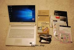 白く可愛いVAIO Core2Duo2.4G/320GB/4.0GB/Win10/地デジ_e13